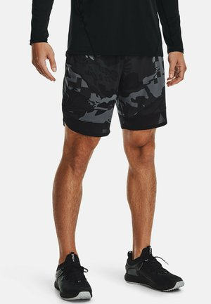 STRETCH CAMO - Sports shorts - pitch gray