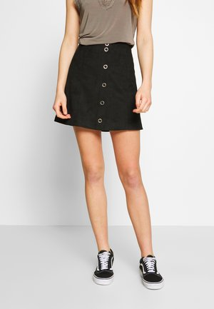 VIJAKY SHORT - A-line skirt - black