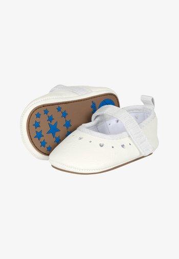 BABY-BALLERINA - First shoes - weiss