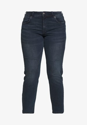 BASIC LEG - Slim fit jeans - used dark stone