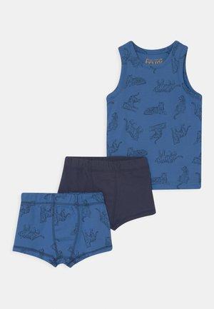 SET - Underwear set - colbalt
