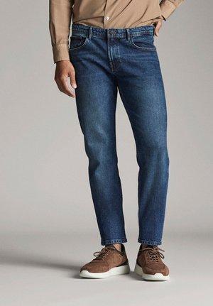 IN FLANELLOPTIK  - Jeans slim fit - blue