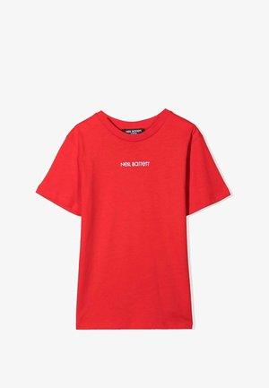T-shirt print - rosso