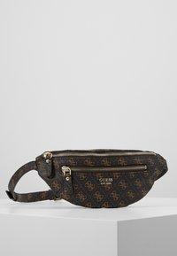 Guess - LEEZA BELT BAG - Bum bag - brown - 0