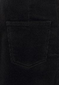 Dorothy Perkins - WRAP BUTTON SKIRT - Mini skirt - black - 2
