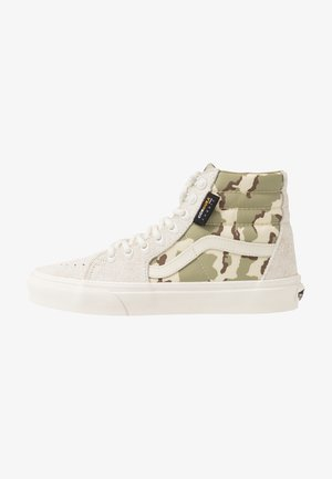 SK8 UNISEX - Sneakers high - white asparagus
