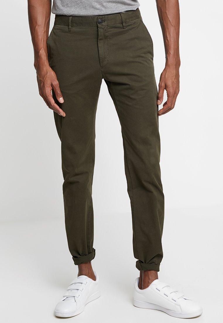 Strellson - RYPTON - Chino kalhoty - dark green
