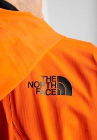 The North Face - M FREETHINKER FutureLight™ JACKET - Kurtka narciarska - papaya orange/black - 8