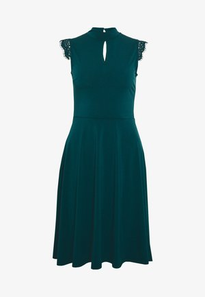 Cocktail dress / Party dress - deep teal