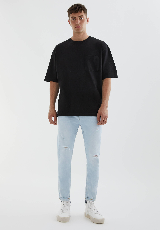 Uomo MIT RISSEN - Jeans slim fit
