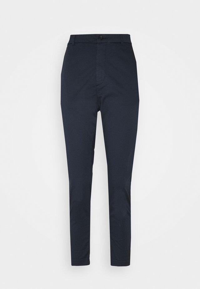 NEWS EDIT TROUSER - Bukser - dark blue