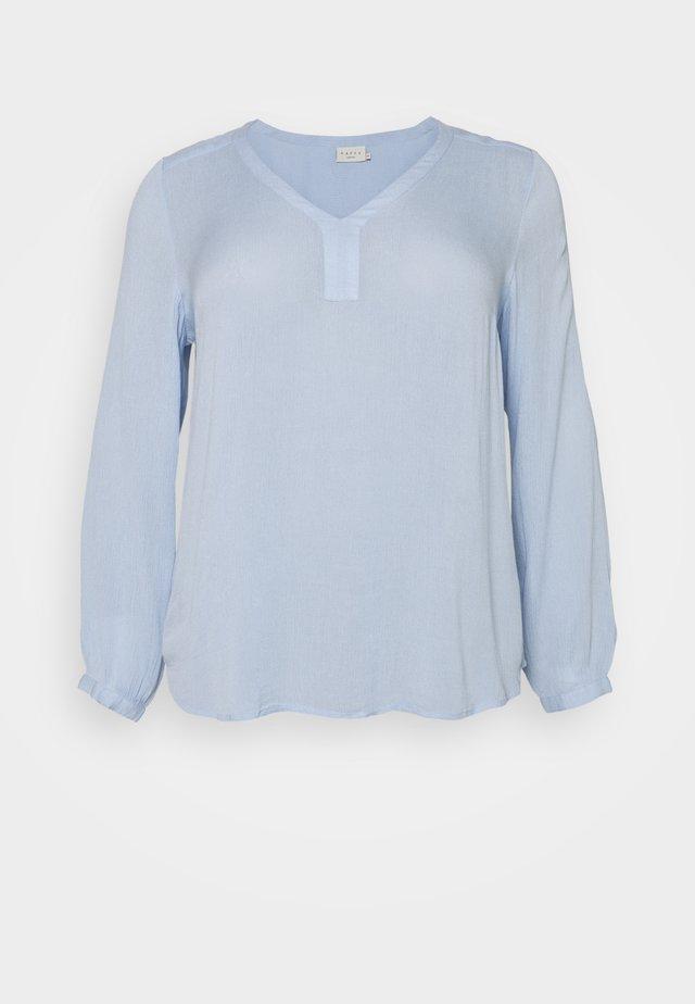 KCAMI BLOUSE - Camicetta - chambray blue