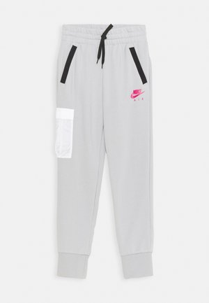 AIR PANT - Trainingsbroek - light smoke grey/fireberry