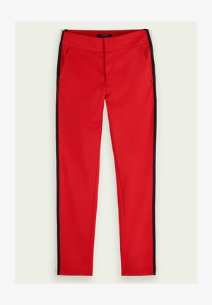 Trousers - reef red