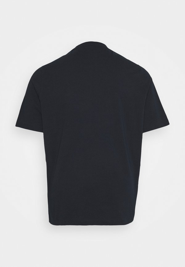 Tommy Hilfiger CIRCLE CHEST CORP TEE - T-shirt basic - desert sky/granatowy Odzież Męska CBAX