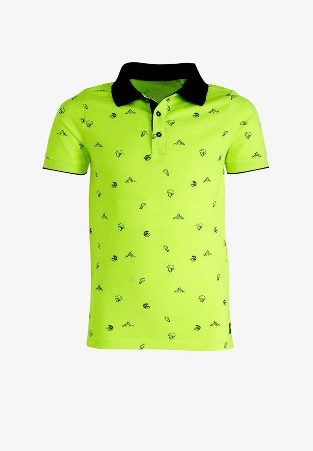 Polo shirt - bright yellow