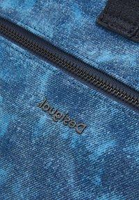 Desigual - BOLS PATCH ROTTERDAM - Handbag - denim dark blue - 4