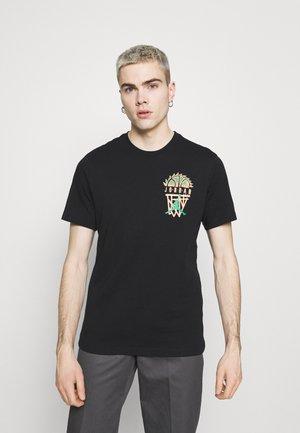 DNA CREW - T-shirt con stampa - black