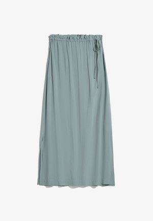 TINAKAA - A-line skirt - eucalyptus green