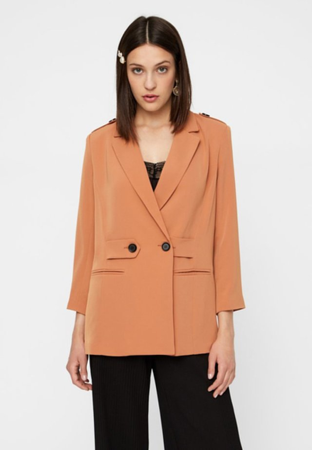 YASMYA - Blazer - amber brown
