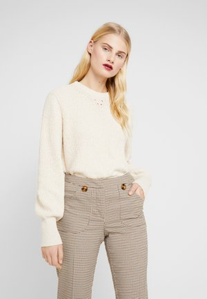 BARRY ON-NECK - Sweter - off white
