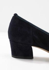 PERLATO - Classic heels - river - 2