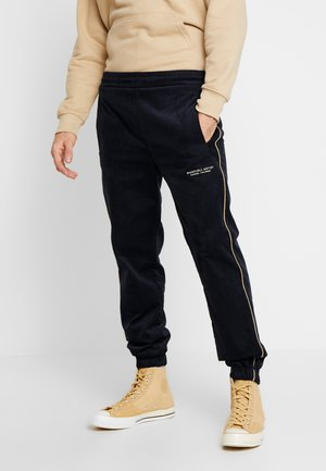 TRACK PANT - Trousers - navy