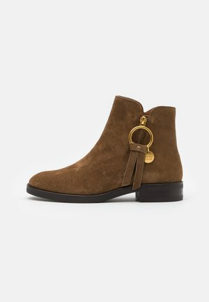 Ankle boot - terra