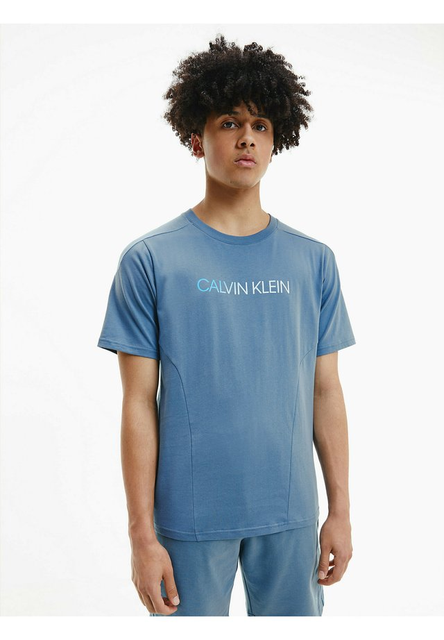 T-shirt print - blue ivy