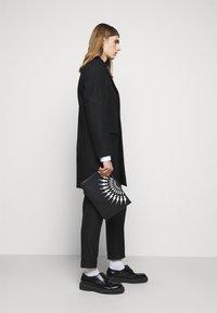 Neil Barrett - THUNDERBOLT FAIRISLE - Laptop bag - black/white - 0
