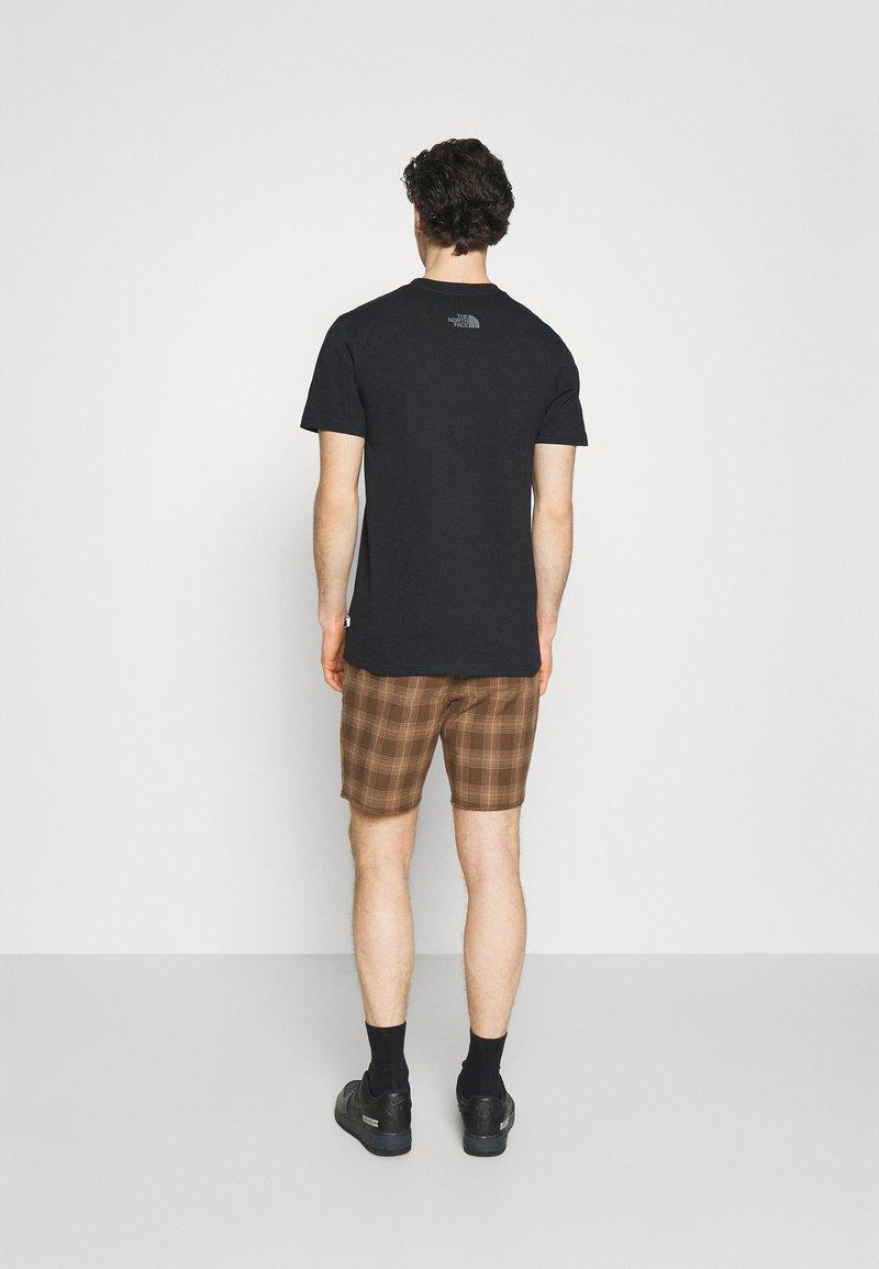 Brixton - MADRID - Shorts - washed brown
