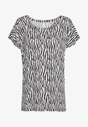 LIBA - T-shirt print - black combi
