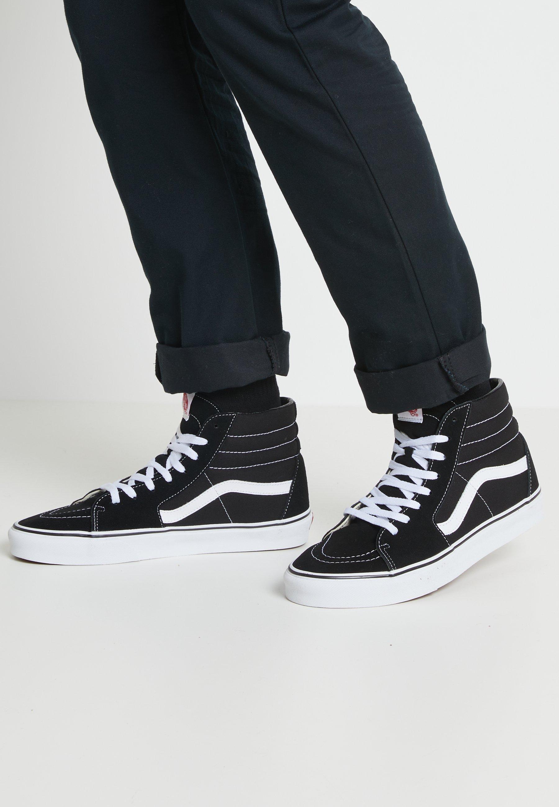 SK8-HI - Sneakers hoog - black