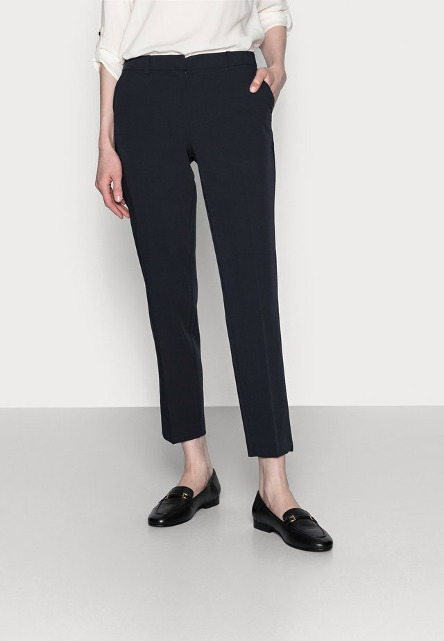 ANKLE GRAZER - Trousers - navy