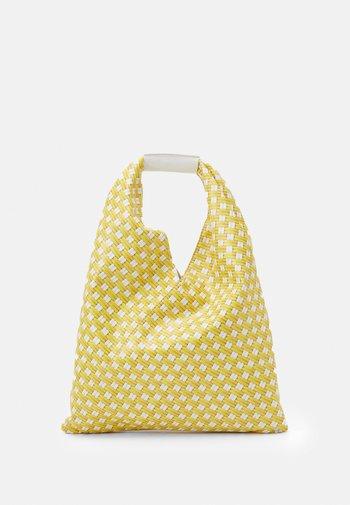 BORSA MANO - Tote bag - yellow