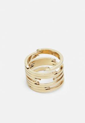 ECHO UNISEX - Ring - gold-coloured