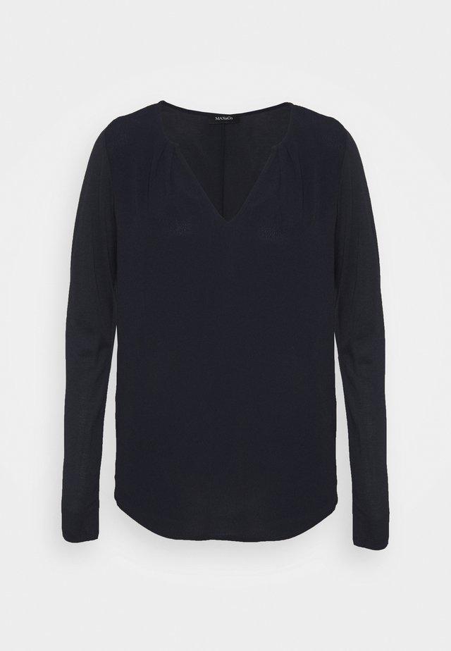 MODUGNO - T-shirt à manches longues - navy blue