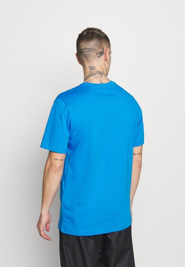 Nike Sportswear TEE SPRING BREAK - T-shirt z nadrukiem - photo blue/jasnoniebieski Odzież Męska GCDJ