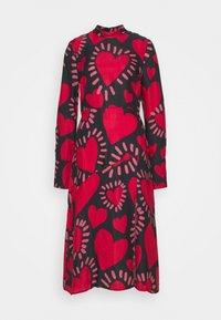 Farm Rio - HEART MIDI DRESS - Day dress - multi - 4