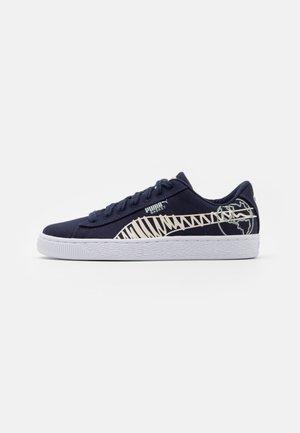 BASKET T4C JR UNISEX - Sneakers basse - navy
