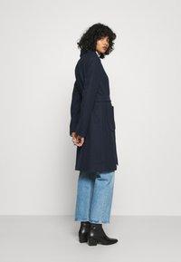 Vila - VITULIP COAT - Classic coat - navy blazer - 2