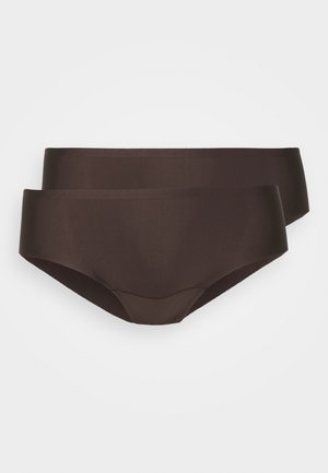 DREAM INVISIBLES HIPSTER 2 PACK - Slip - chocolate
