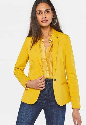 Żakiet - ochre yellow