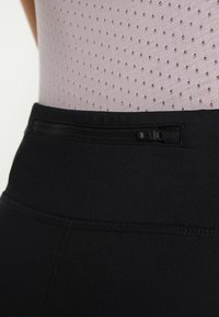 Nike Performance - POWER ESSENTIAL DRI-FIT - Tights - black/reflective silver - 5