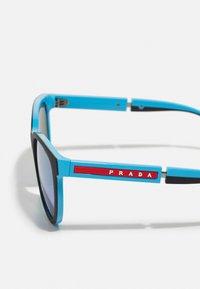 Prada Linea Rossa - Sunglasses - black/light blue - 2