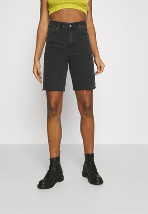 ECHO  - Shorts di jeans - charcoal black