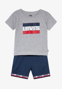Levi's® - BASKETBALL SET - Shorts - grey heather - 4