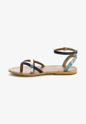 Sandals - navy silver