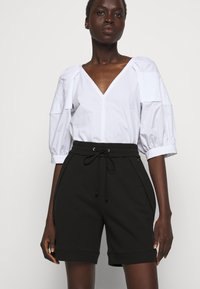 3.1 Phillip Lim - FRENCH TERRY PULL ON - Shorts - black - 4