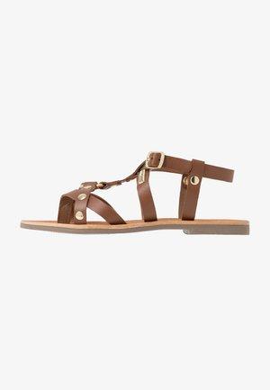 DIAC - T-bar sandals - tan